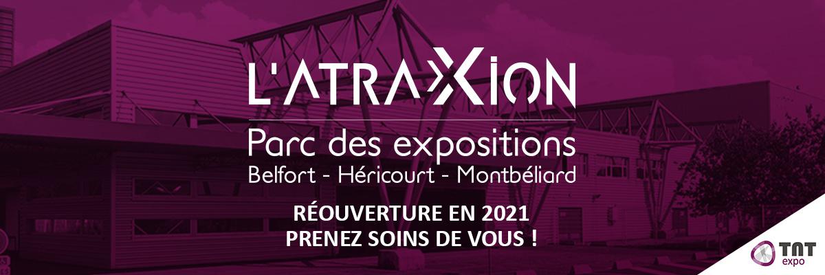 L'Atraxion Parc des Expositions de Belfort Montbéliard Héricourt